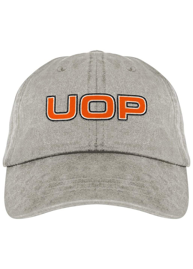 University of the Pacific Tigers UOP Fadeaway Cap Hat by Zeus Collegiate