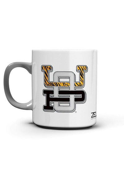 University of the Pacific Tigers UOP Monogram Mug by Zeus Collegiate