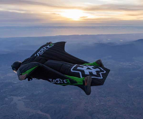 Pryce Brown Wingsuit & Skydiver