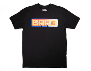 RWB OUTLINE TEE - BLACK