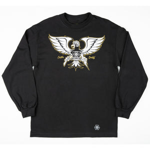 GONZO LONG SLEEVE - BLACK