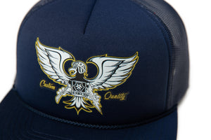 GONZO FOAM TRUCKER HAT - NAVY