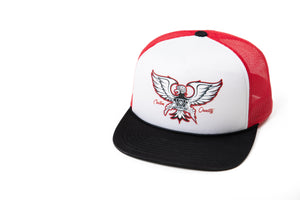 GONZO FOAM TRUCKER HAT - RED/WHT