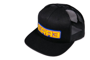 '76 RWB OUTLINE HAT - BLACK