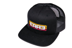 '76 FONT & STRIPES HAT - BLACK