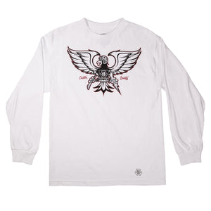 GONZO LONG SLEEVE - WHITE