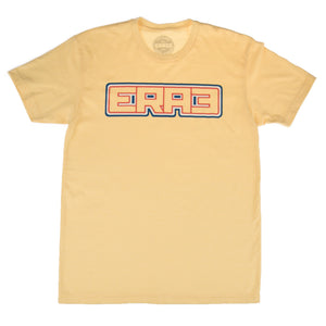 RWB OUTLINE TEE - YELLOW