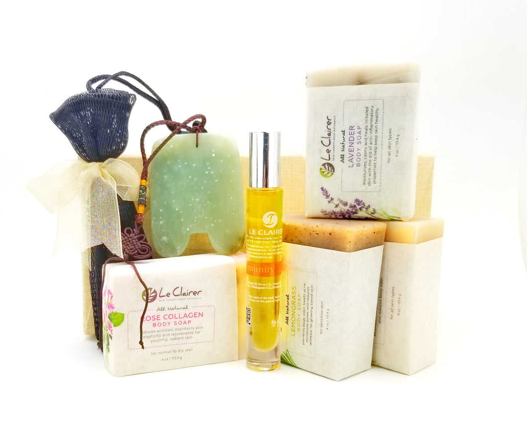 Gua Sha & Soap Gift Set