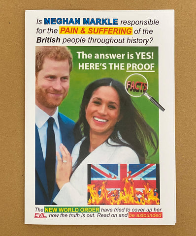 Meghan Markle Conspiracy Theory Booklet