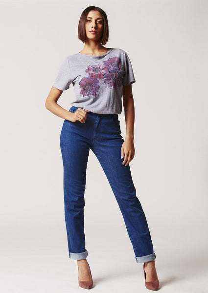 Jeans denim elasticizzato regular fit ARZ70532
