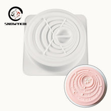 Load image into Gallery viewer, Silicone Mold - 3D Cake Round Mold