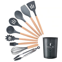 Load image into Gallery viewer, Silicone Cooking Utensils Set 10/12PCS