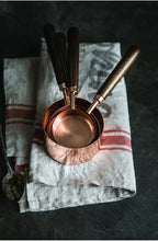 Load image into Gallery viewer, Rose Gold Stainless Steel Measuring Cups Set of 8