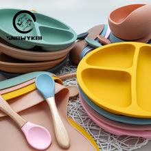 Load image into Gallery viewer, Baby Self Feeding Set