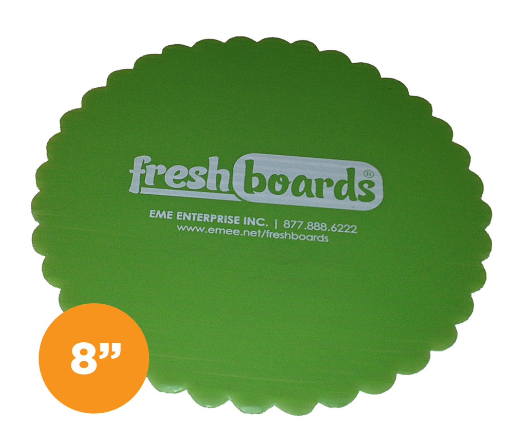 8 inches, Scalloped Edge Cake Board