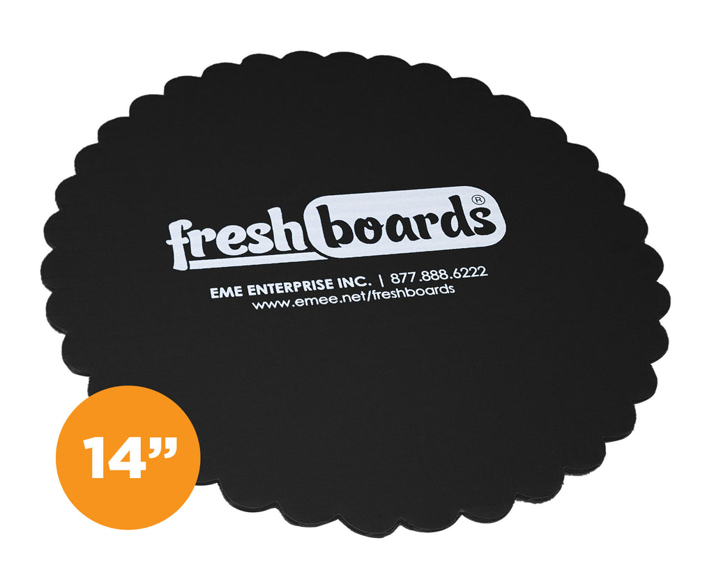 14 inches, Scalloped Edge Cake Board (Case Only)