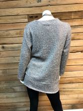 Load image into Gallery viewer, Neutral- Colored Tunic Sweater