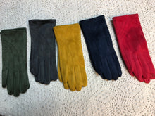 Load image into Gallery viewer, Suede Gloves- five color options