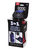 The 3 in 1 Water Bottle & Bowl
