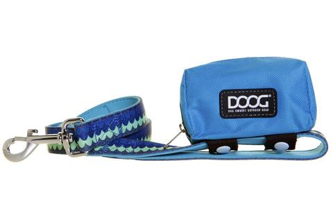 Walkie Pouch Aqua & Brown