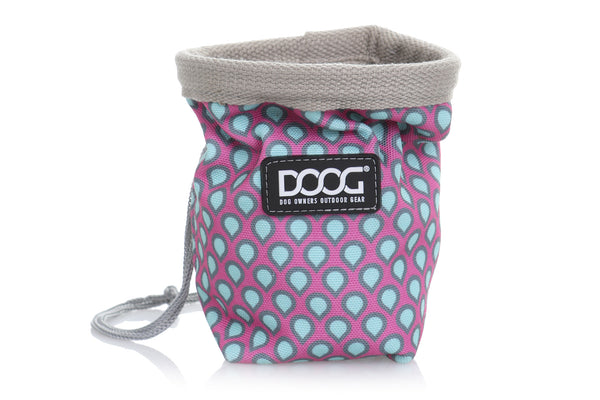 Small Good Dog Treat Pouch -  Luna Print