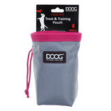 Small Good Dog Treat Pouch - Grey & Pink *NEW*