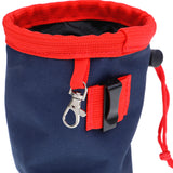 Small Good Dog Treat Pouch - Navy & Red *NEW*