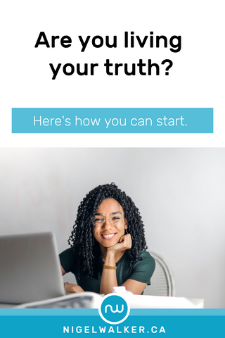 Are you Living Your Truth Pinterest Pin