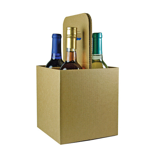 4 Bottle Open Wine Carryout