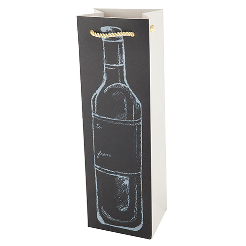 Chalkboard Bottle Bag by Cakewalk