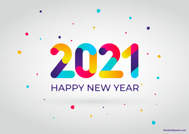 Happy the New Year of 2021