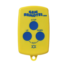 3-Button GEM Remote Transmitter