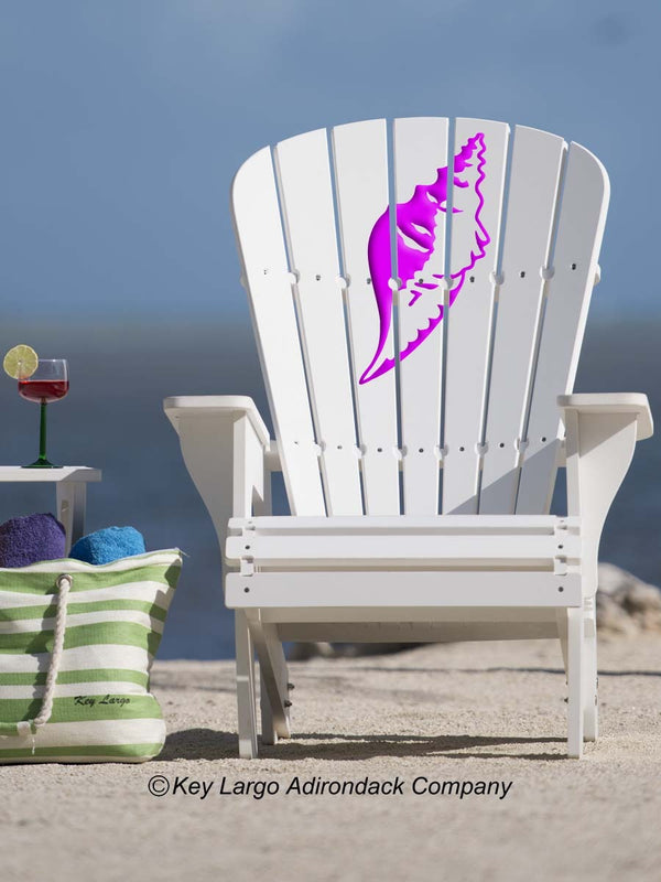 Conch Shell Adirondack Chair