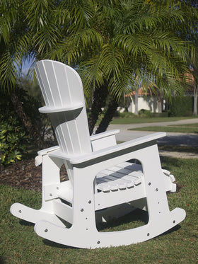 University of South Florida Bulls Rocking Chair