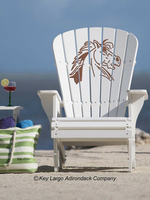Horse Mad Adirondack Chair
