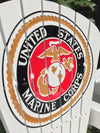 Rocking Chair - Marine Corps