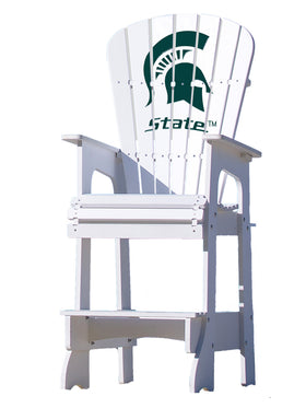 Outdoor Patio Lifeguard Chair - Michigan State University Spartans