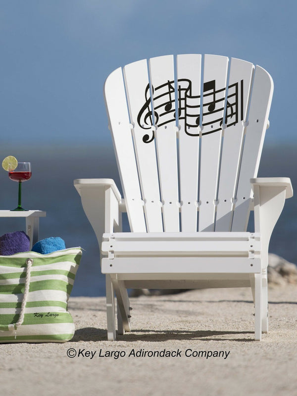 Music Adirondack Chair