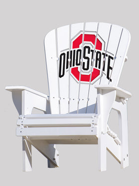 Ohio State University Adirondack Chair