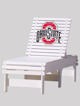 Outdoor Patio Chaise Lounge - Ohio State University