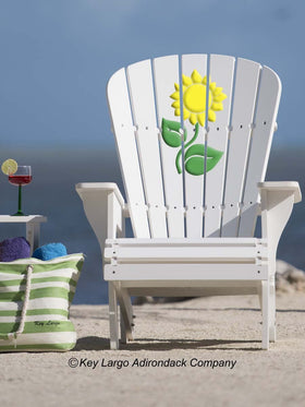Sunflower Adirondack Chair