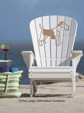 Terrier Adirondack Chair