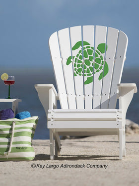Turtle Adirondack Chair - GG Design