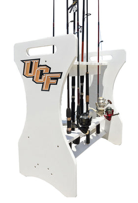 Central Florida University Knights Fishing Rod Holder