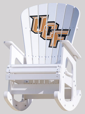 Central Florida University Knights Rocking Chair