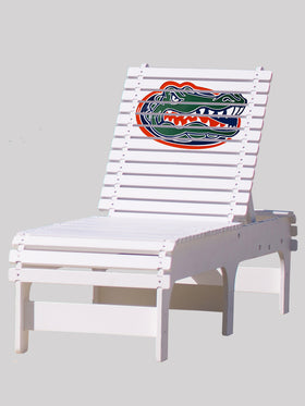 Outdoor Patio Chaise Lounge - University of Florida Gators