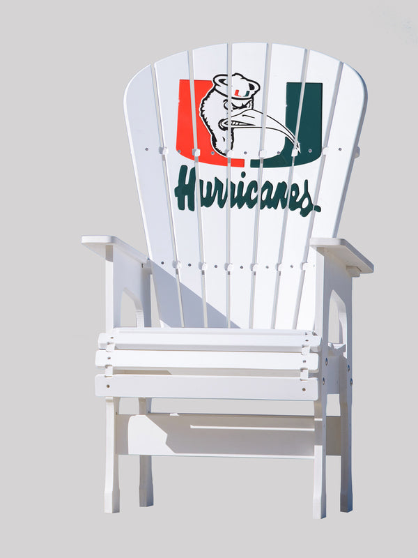 High Top Patio Chair - University of Miami - Hurricanes