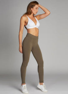 Heathered Khaki Legging 38863