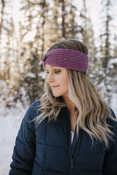 Alpaca Headband - Purple