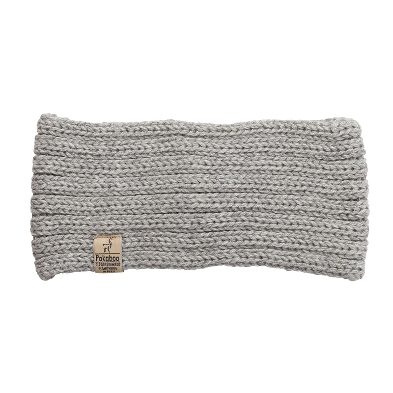 Alpaca Light Grey Headbands